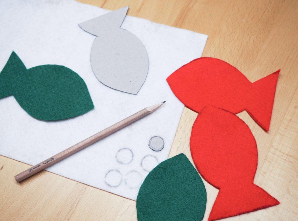 Weihnachtsbasteln Mit Kleinkindern Vorlagen.Basteln Mit Kleinkindern Diy Angelspiel Paulinchen Blog