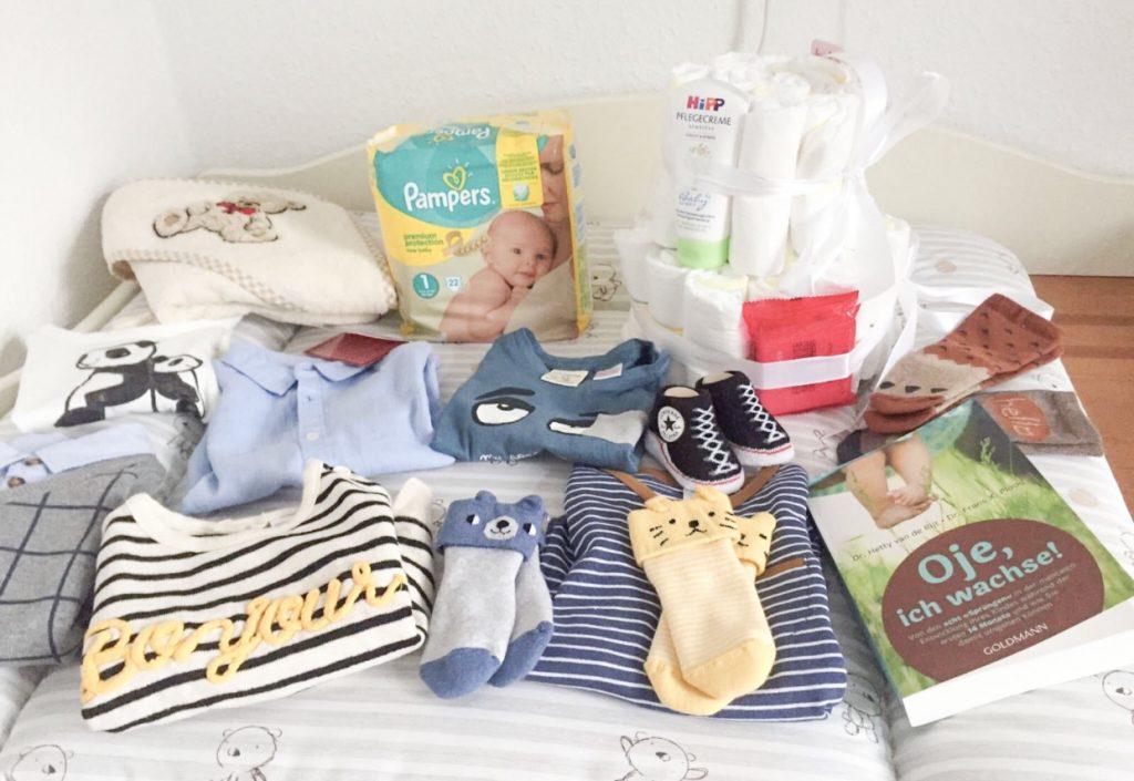 Geschenke zur Geburt und werdenden Eltern
